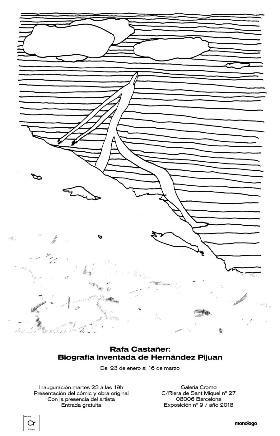 Rafa Castañer - Biografía inventada de Hernández Pijuan
