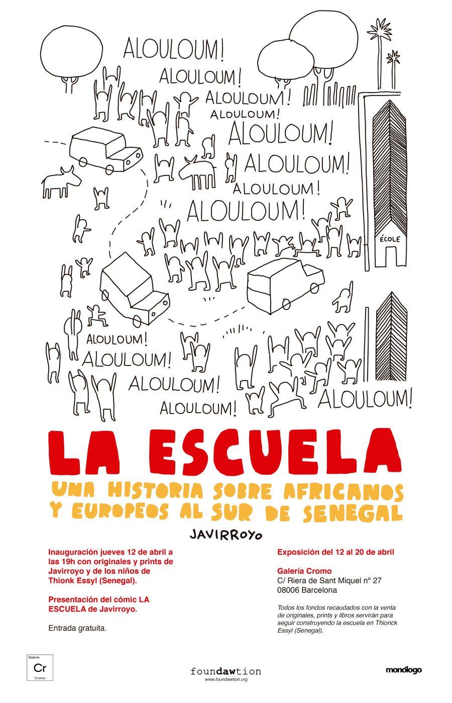 Javi Royo La Escuela Foundawtion Sur de Senegal
