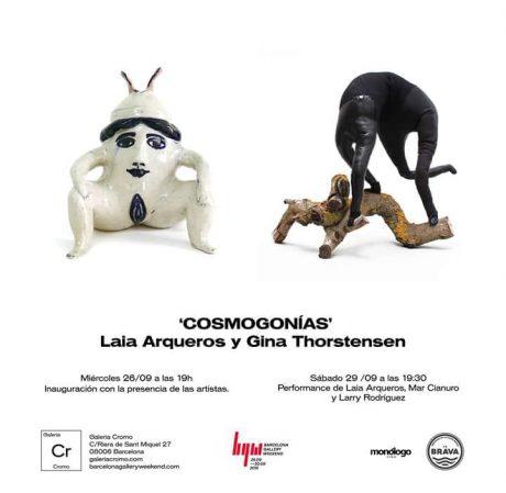 Cosmogonías Laia Arqueros Gina Thorstensen